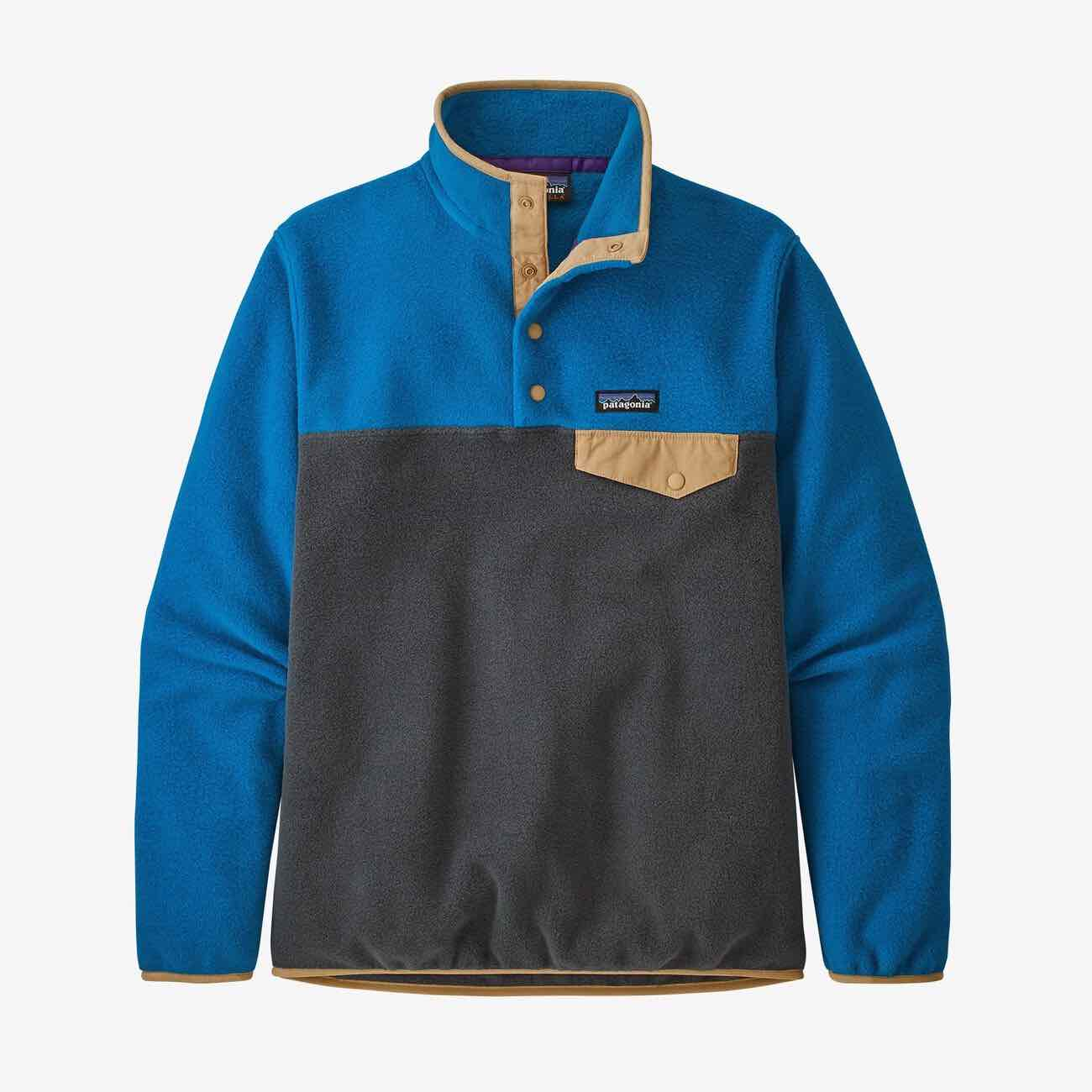 PATAGONIA LW SYNC SNAP PULLOVER FLEECE - DAME - BLÅ