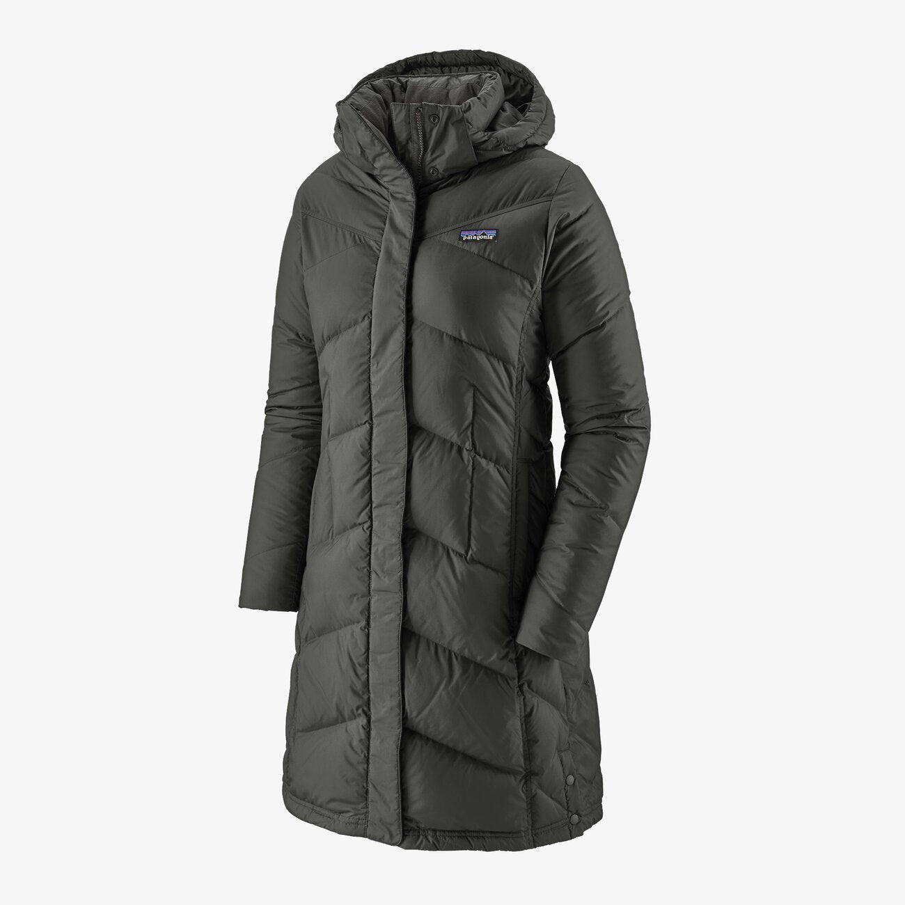 PATAGONIA DOWN WITH IT DUNPARKA - DAME - FORGE GREY