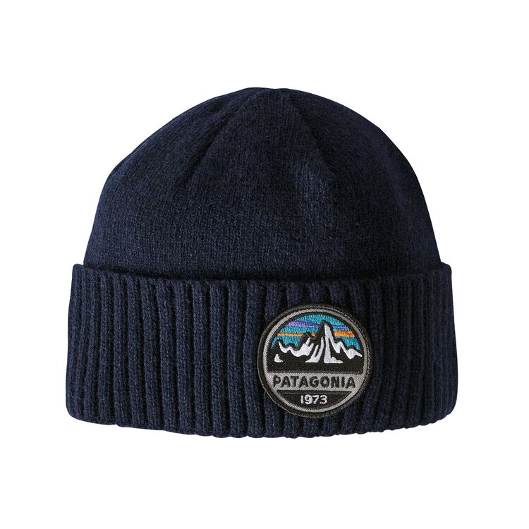 PATAGONIA BRODEO BEANIE - NAVY M/PATCH