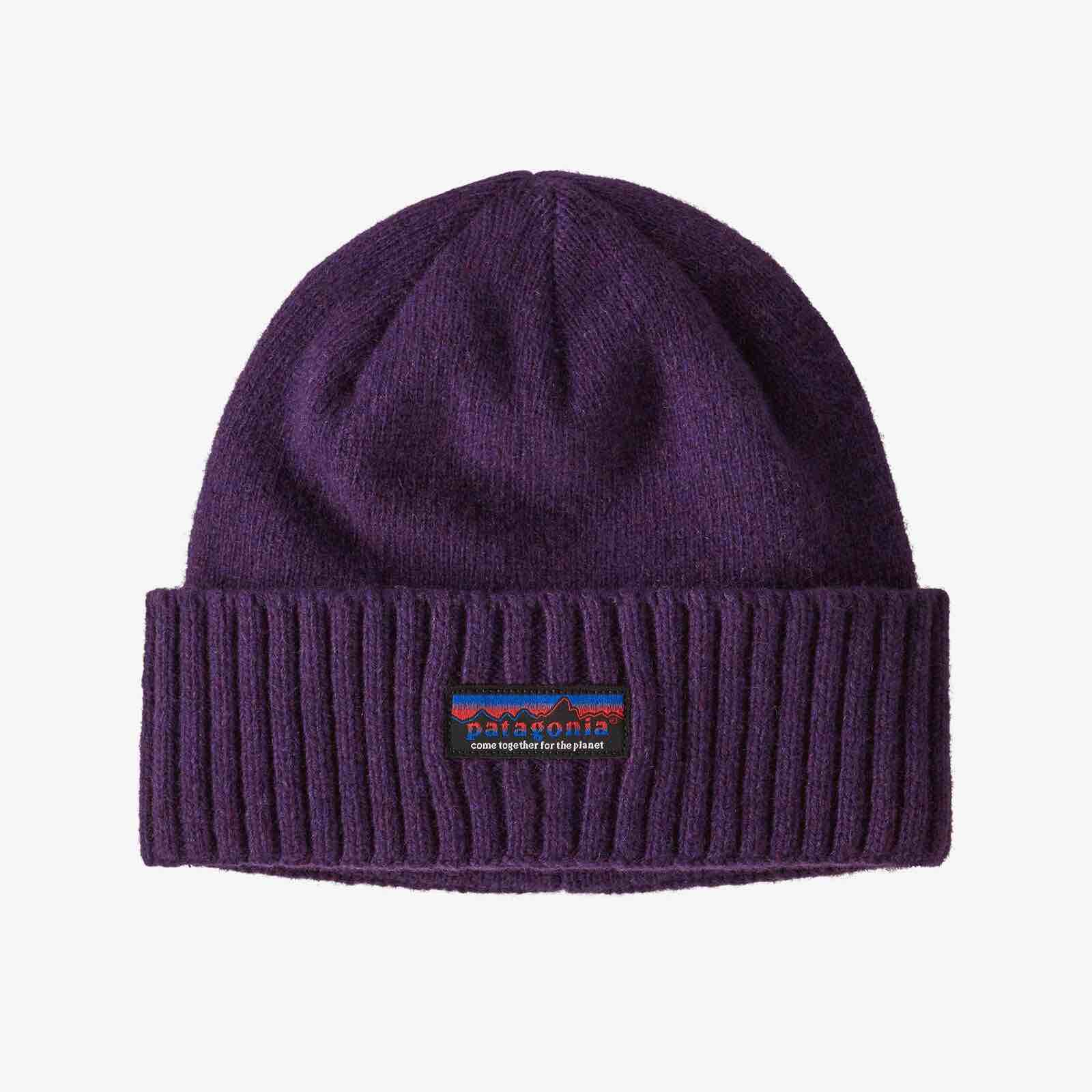 PATAGONIA BRODEO BEANIE - PIT PURPLE