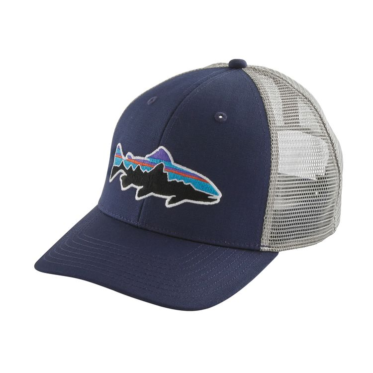 PATAGONIA FITZ ROY TRUCKER TROUT CAP NAVY