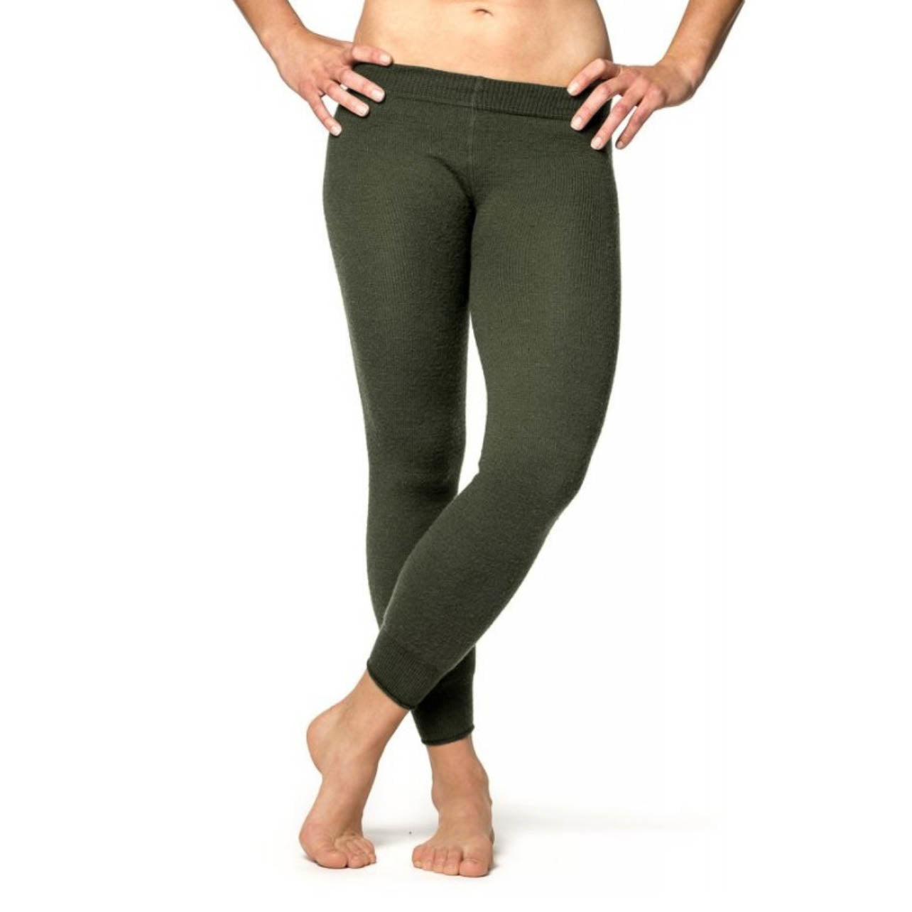 WOOLPOWER LONG JOHNS 400 – UNISEX – PINE GREEN