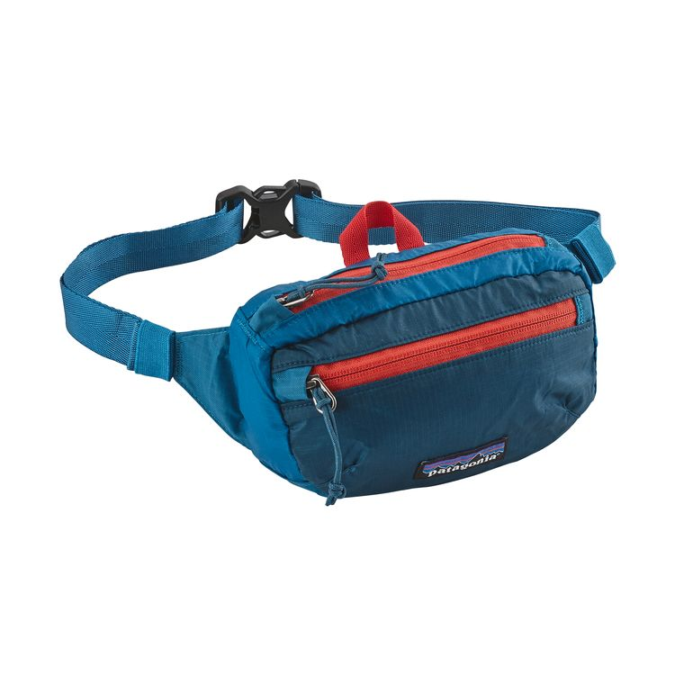 PATAGONIA MINI HIP PACK HOFTEVESKE - BALKAN BLUE
