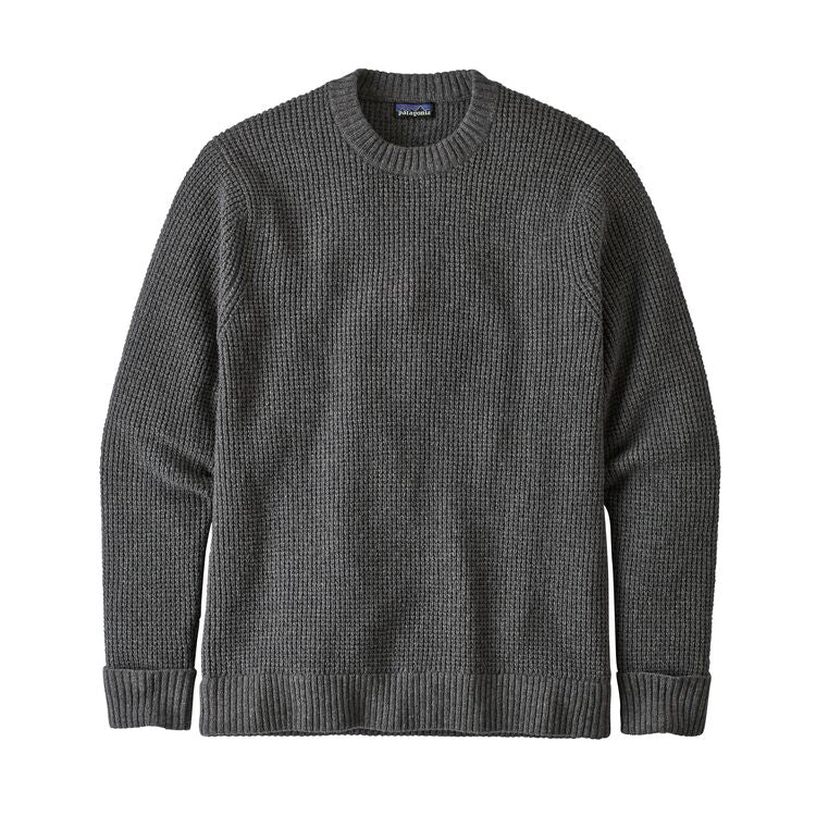 PATAGONIA RECYCLED WOOL ULLGENSER HERRE - HEX GREY
