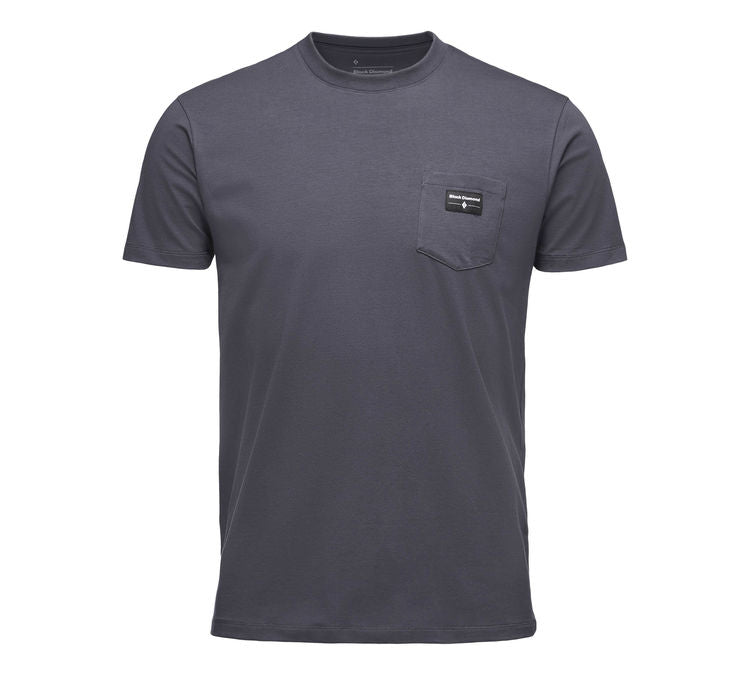 BLACK DIAMOND POCKET LABEL T-SKJORTE