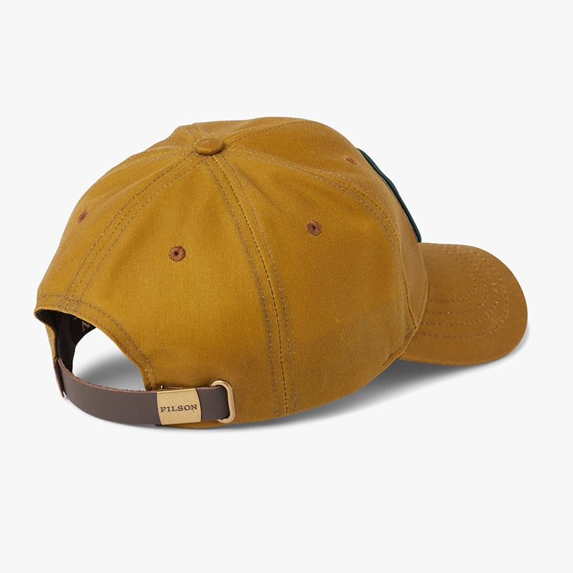 FILSON OIL TIN LOGGER CAP – TAN