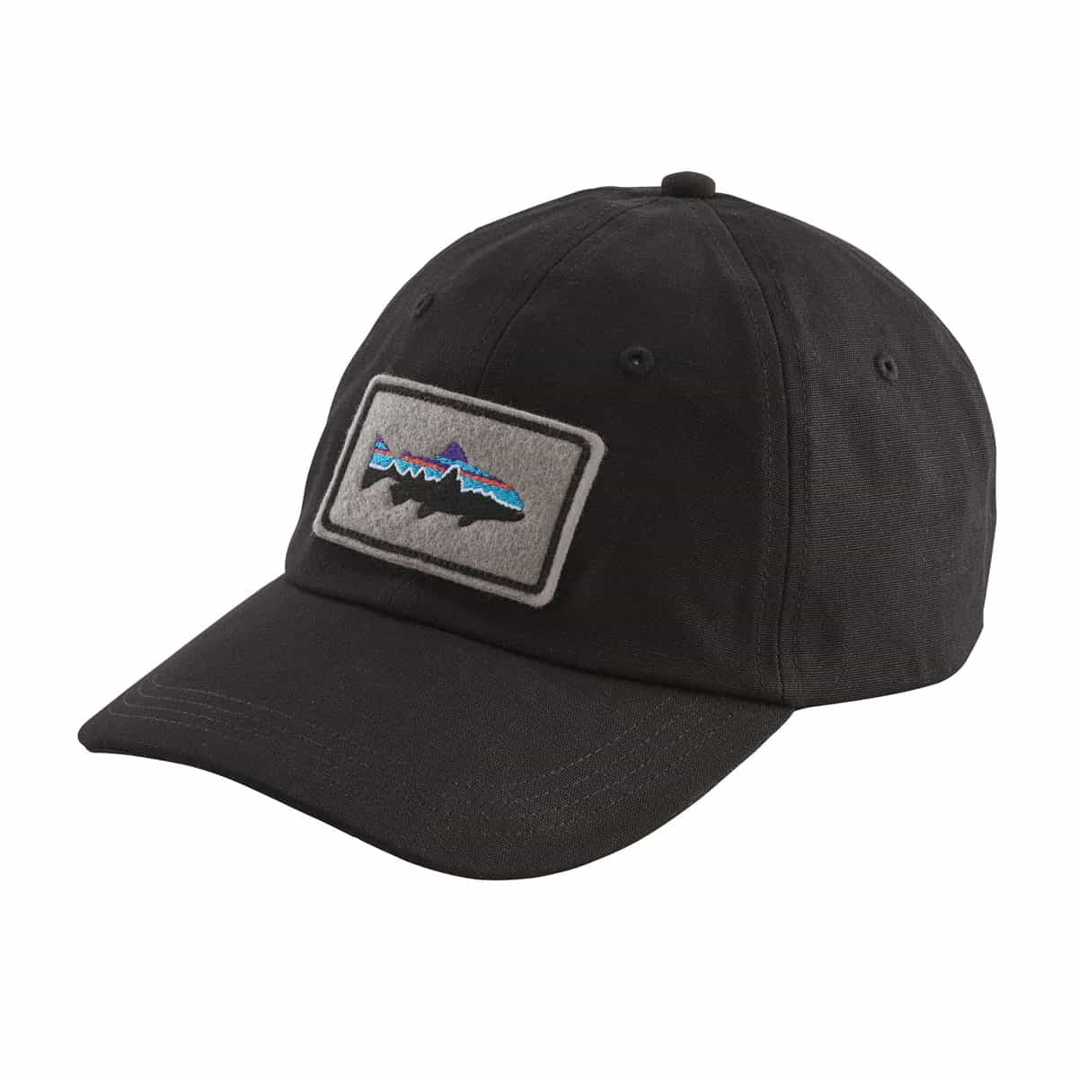 PATAGONIA FITZ ROY TROUT PATCH CAP - SVART