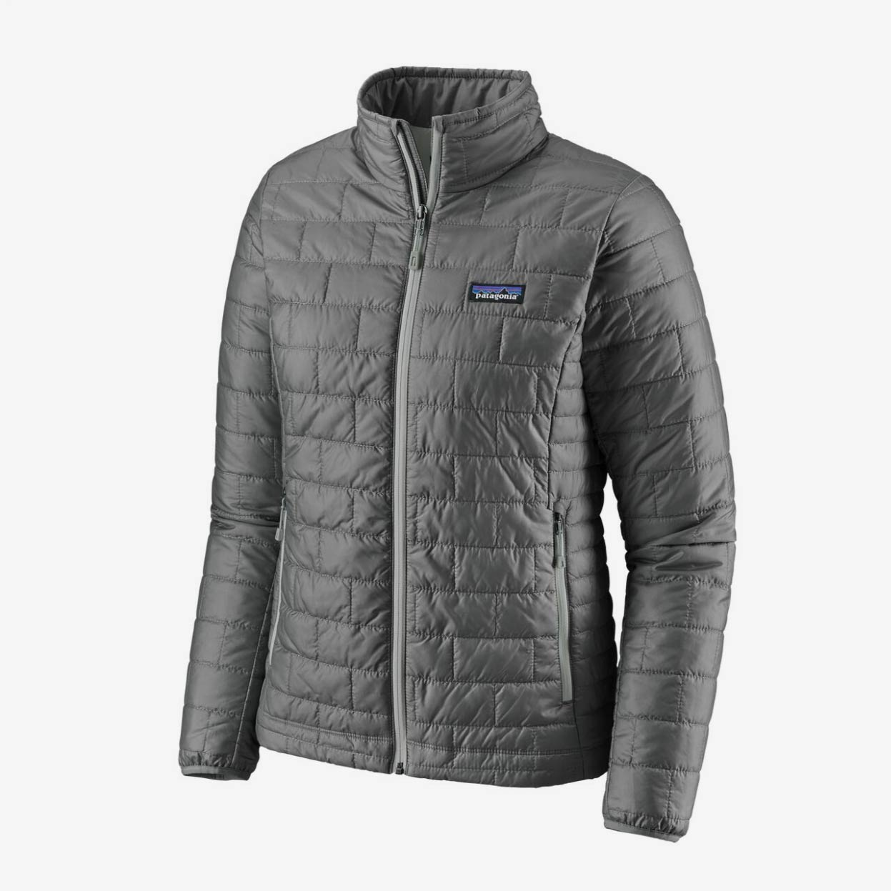 PATAGONIA NANO PUFF JACKET DAME - FEATHER GREY