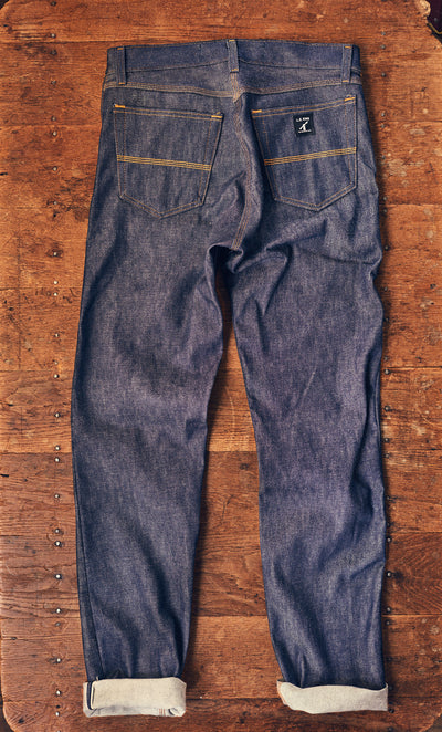 RIGID DENIM BRISTOL SELVEDGE JEANS