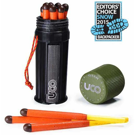 UCO STORMPROOF MATCH KIT - FYRSTIKKER - Revir