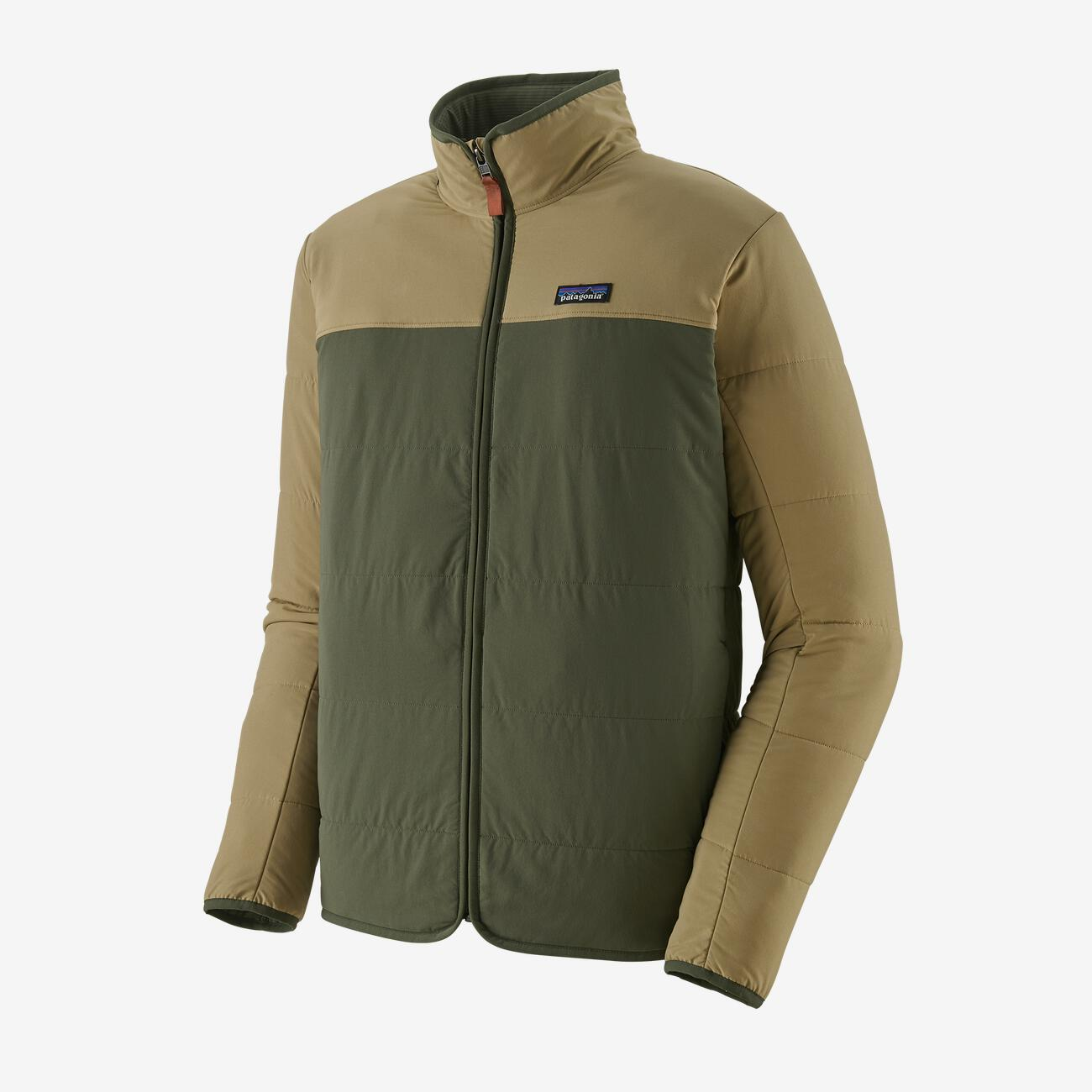 PATAGONIA PACK IN JACKET - HERRE - INDUSTRIAL GREEN
