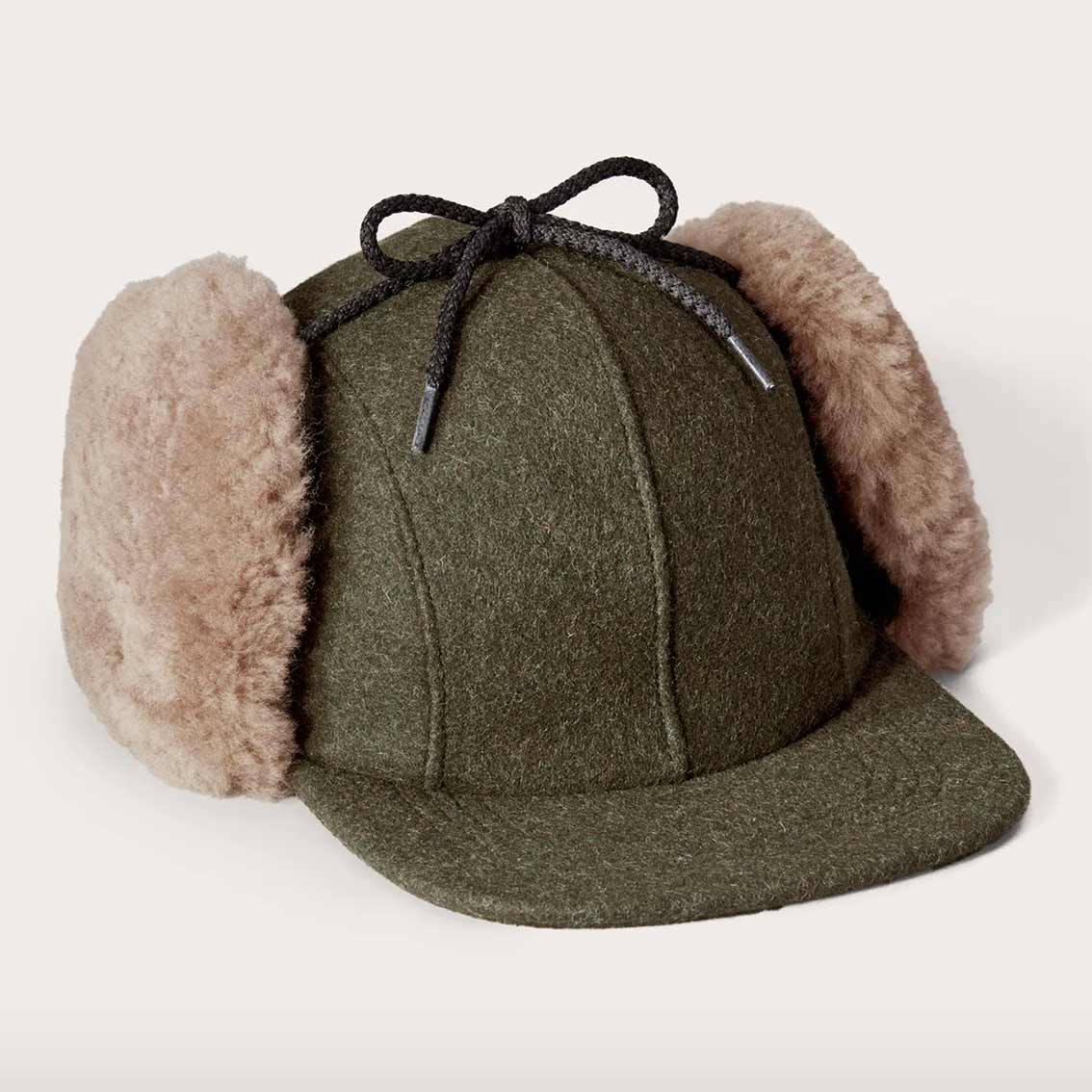 FILSON DOUBLE MACKINAW CAP – GRØNN