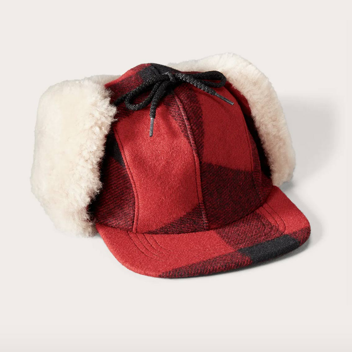 FILSON DOUBLE MACKINAW CAP – RØD
