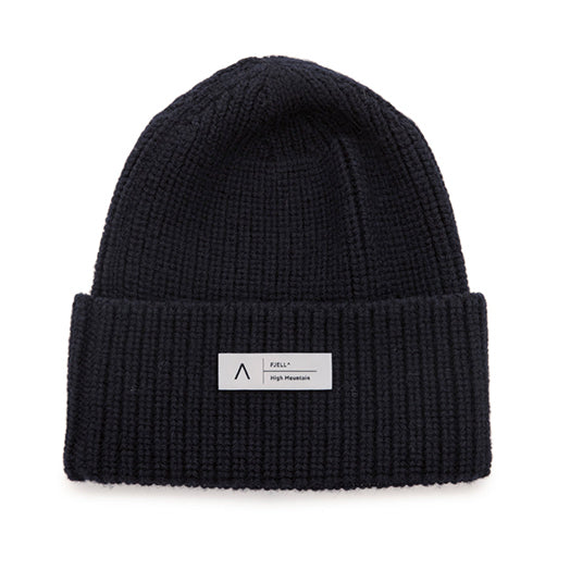 FJELL^ MT HIGH MOUNTAIN MERINO HAT – NAVY