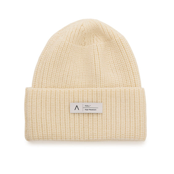 FJELL^ MT HIGH MOUNTAIN MERINO HAT – HVIT