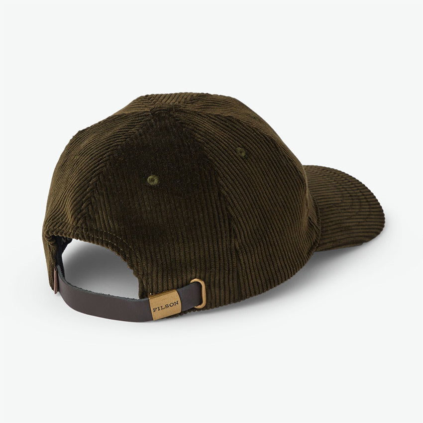 FILSON SMOKEY BEAR LOW-PROFILE CAP – DARK OLIVE