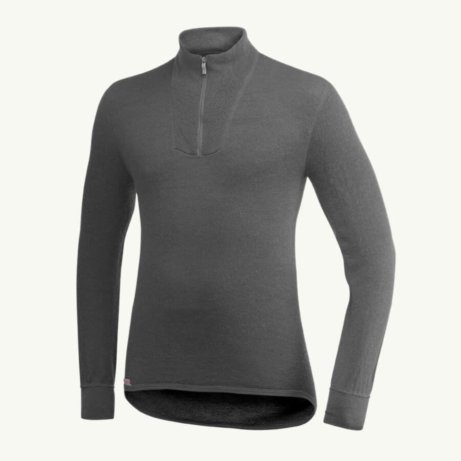 WOOLPOWER ZIP POLO 200 ULLGENSER – UNISEX – GREY