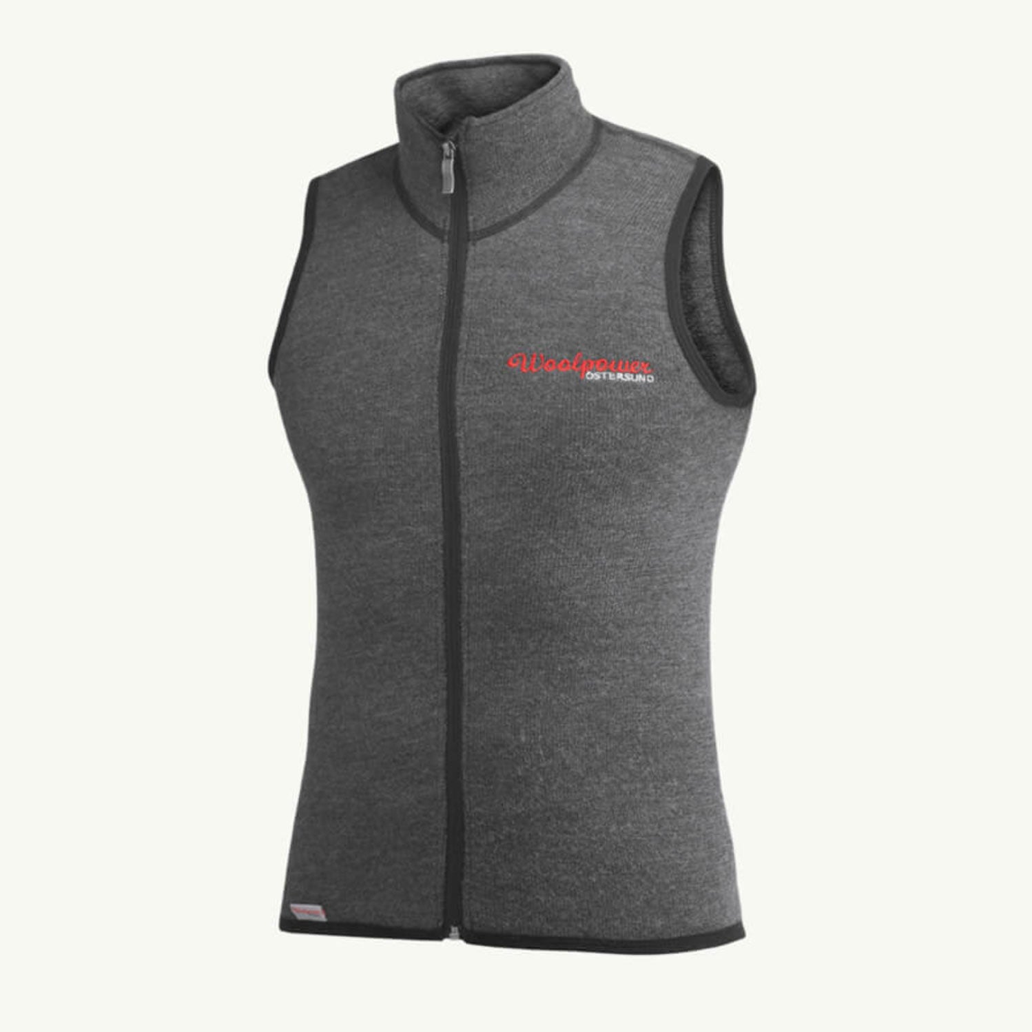 WOOLPOWER VEST 400 – UNISEX – GREY