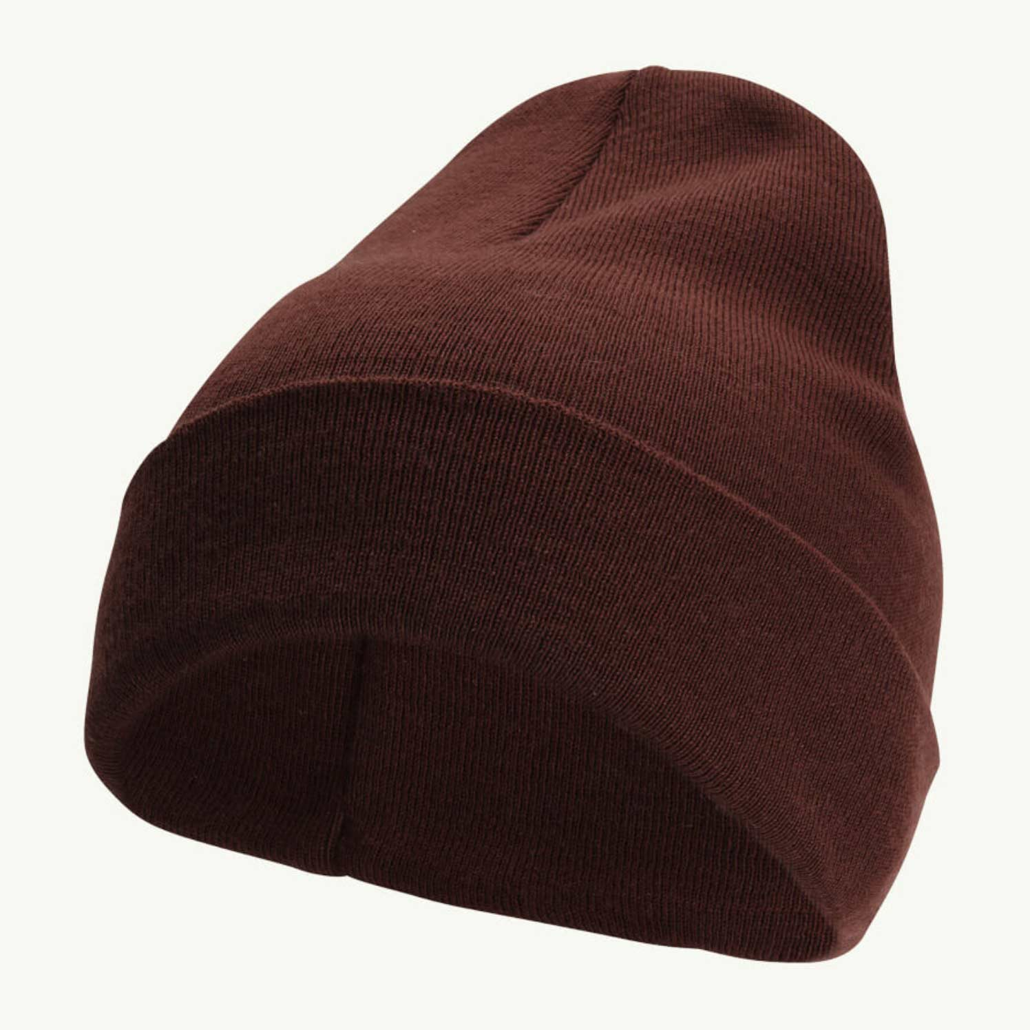 WOOLPOWER BEANIE CLASSIC – RUST RED