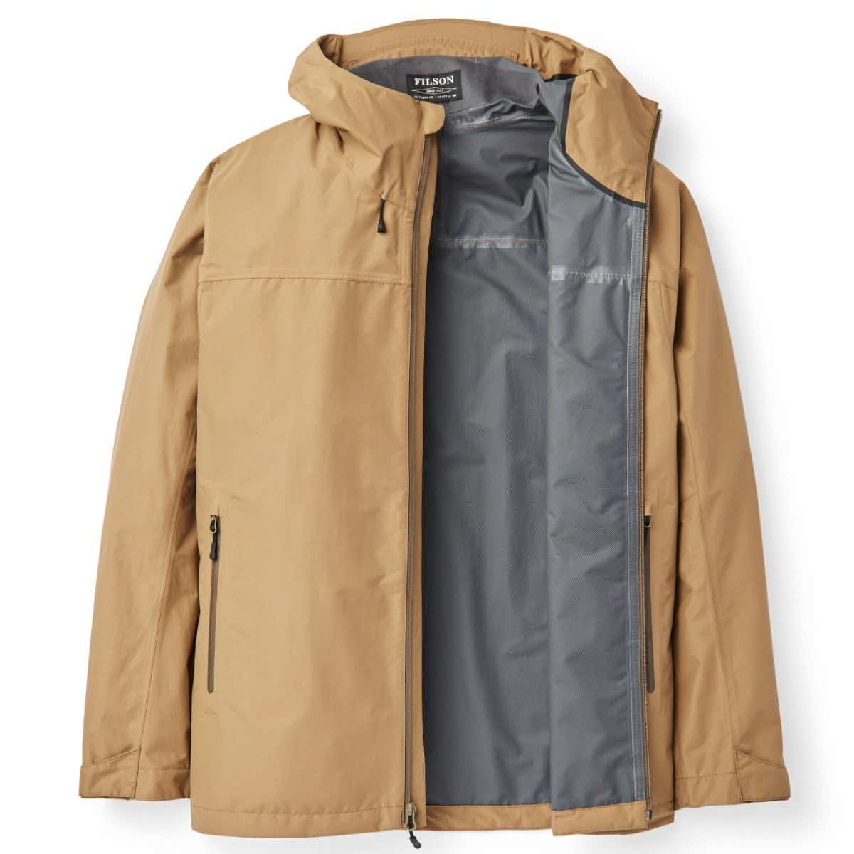 FILSON SWIFTWATER 2.5LAGS SKALLJAKKE HERRE - DARK TAN
