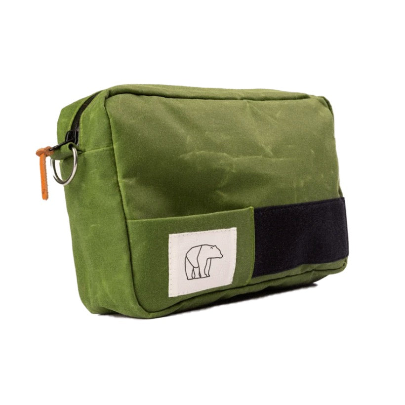 BEAR MADE - UNIVERSAL FLYFISHING PACK - 3,7 L CANVAS GRØNN