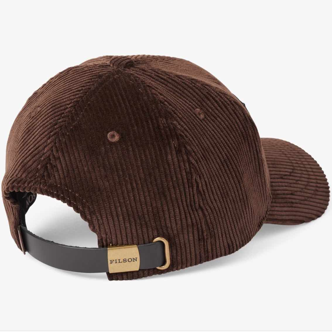 FILSON LOGGER CAP - DARK BROWN