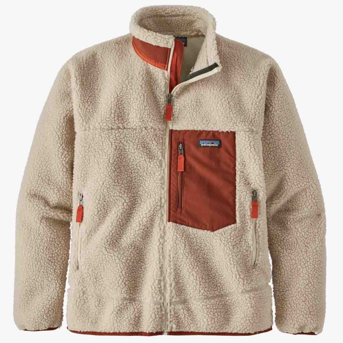 PATAGONIA CLASSIC RETRO-X FLEECE - HERRE - NATURAL BARN RED