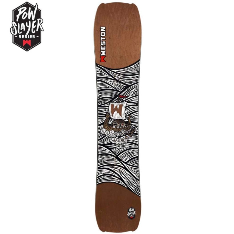 WESTON – HATCHET POW SLAYER – SNOWBOARD