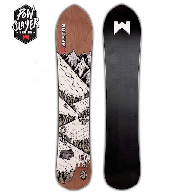 WESTON – BACKWOODS POW SLAYER 157 – SNOWBOARD