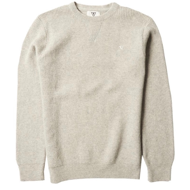 VISSLA – CREATORS ECO SWEATER – STEEL