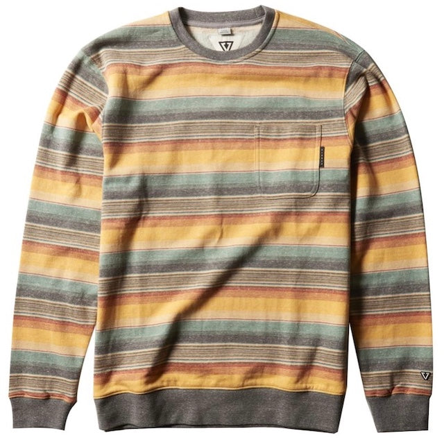 VISSLA – JOYRIDE PKT CREW – GOLDEN HOUR HEATHER – GENSER