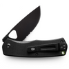 FOLSOM BLACK+ BLACK SERRATED - Kniver - Revir