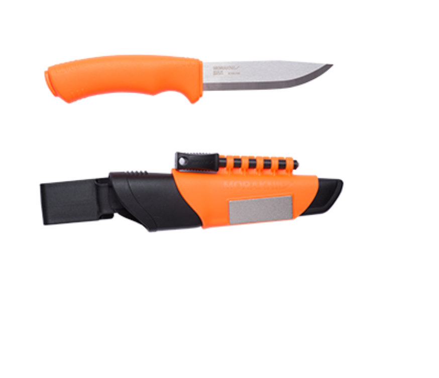 BUSHCRAFT SURVIVAL ORANGE - Kniver - Revir