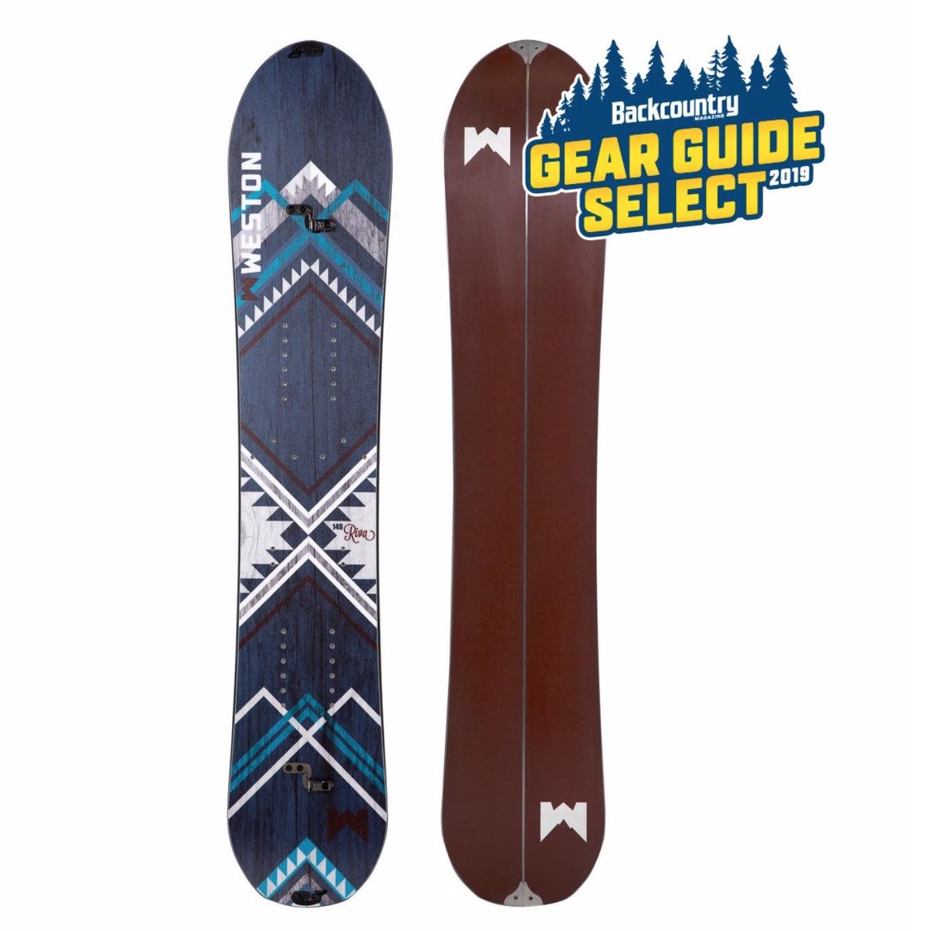 WESTON RIVA SPLITBOARD – DAME – DEMOBRUKT