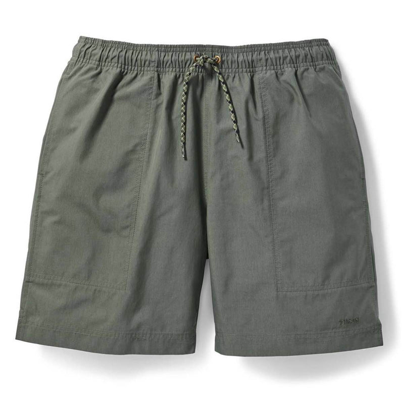 FILSON GREEN RIVER WATER SHORTS - SERVICE GREEN