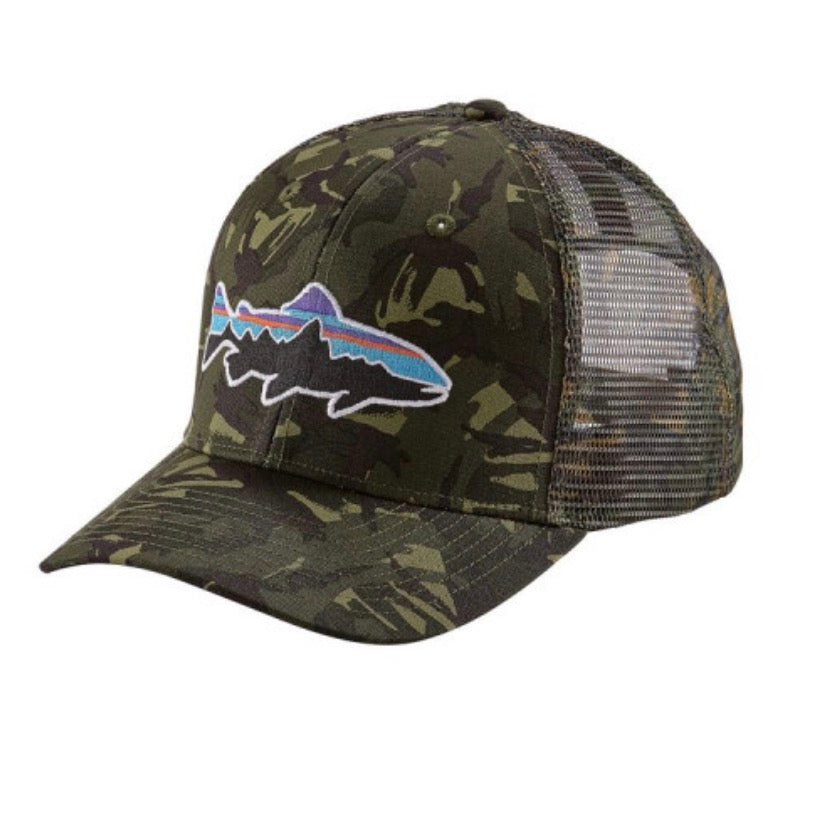 PATAGONIA FITZ ROY TRUCKER TROUT CAP CAMO