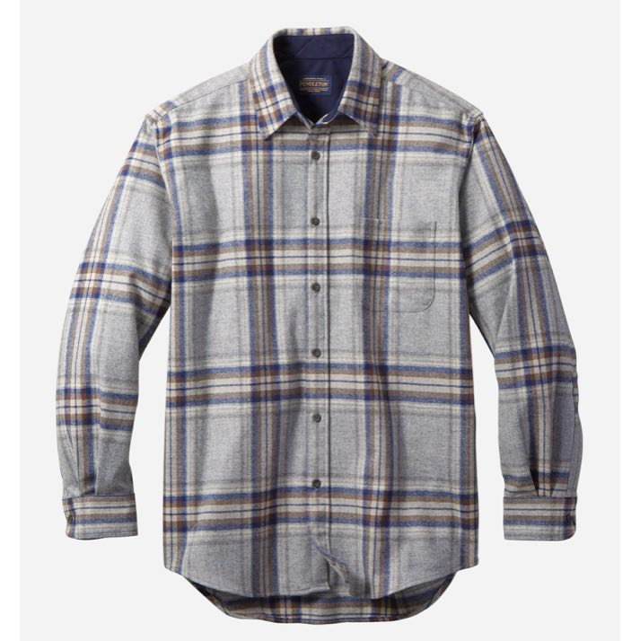 PENDLETON LODGE SHIRT ULLSKJORTE - HERRE