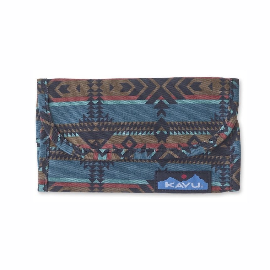 KAVU BIG SPENDER LOMMEBOK -PACIFIC BLANKET