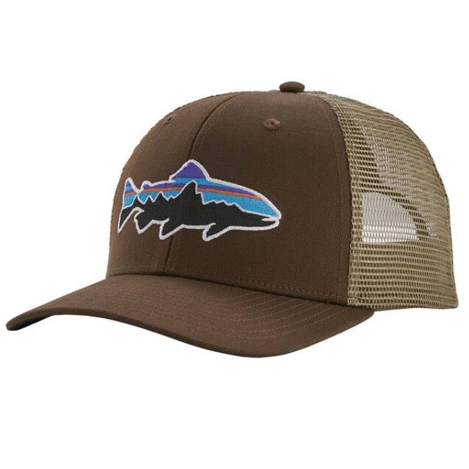 PATAGONIA FITZ ROY TRUCKER TROUT BRISTLE BROWN
