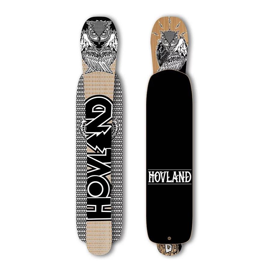 HOVLAND THE BUCKSHOT SNOWSKATE - 126CM - INKL LEASH