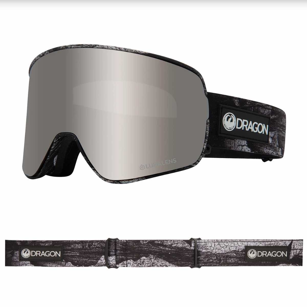 DRAGON NFX2 TORN BIRCH MED 2 LINSER - GOGGLES