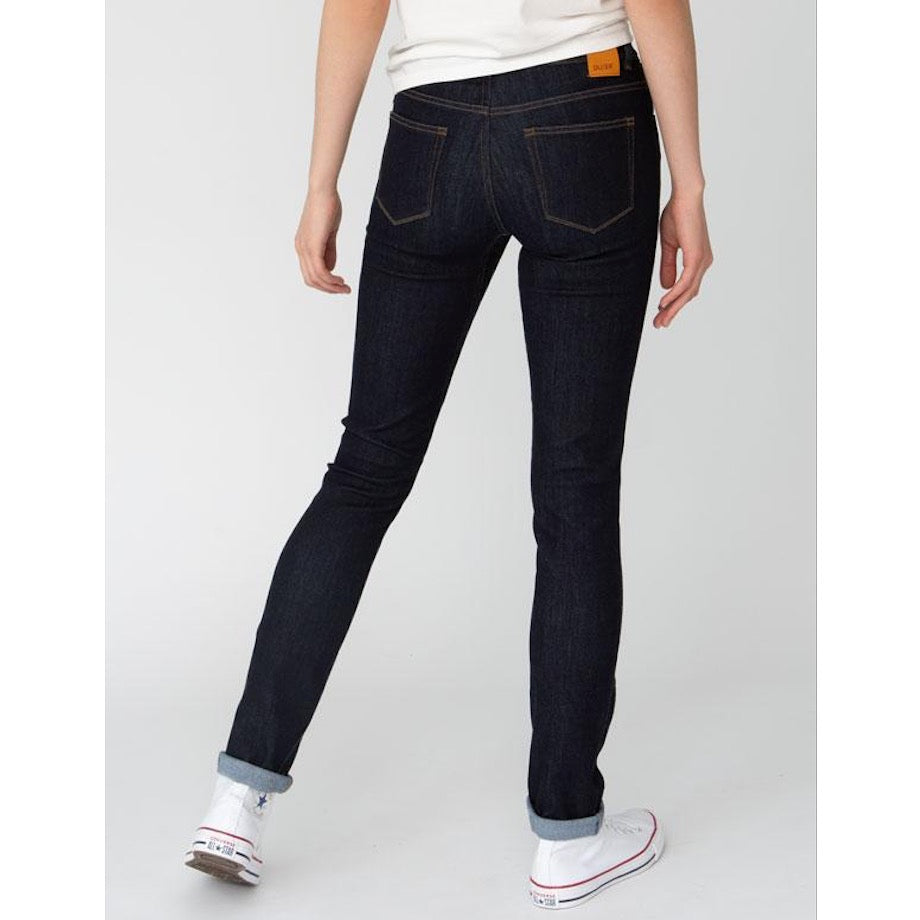 DUER SLIM STRAIGHT MID RISE PERFORMANCE JEANS - DAME