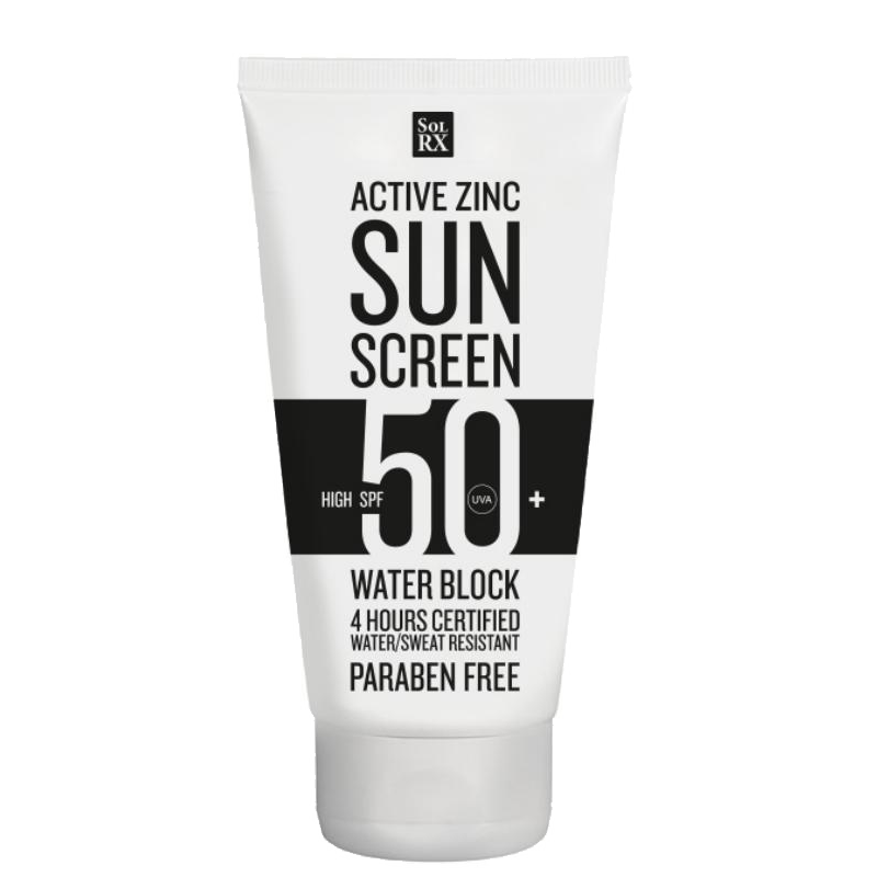 SPF 50+ ACTIVE ZINC 120ML - SOLKREM