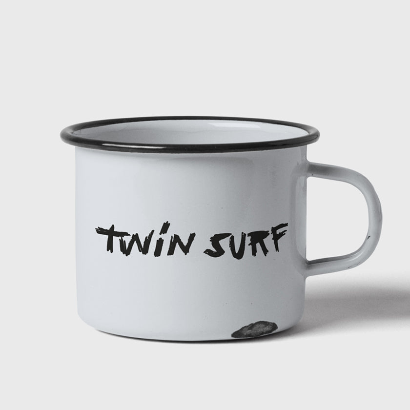 TWIN SURF BASIC LOGO - EMALJEKOPP