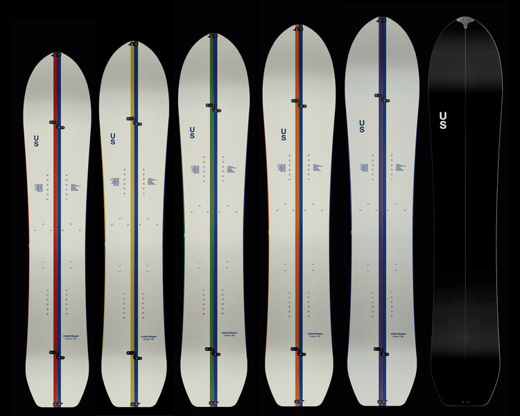 UNITED SHAPES COVERT SPLITBOARD