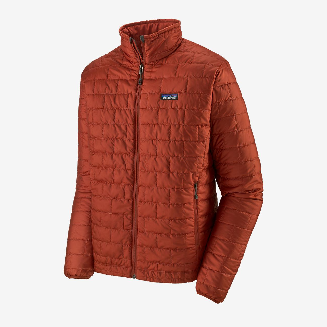 PATAGONIA NANO PUFF JAKKE HERRE - ROOTS RED