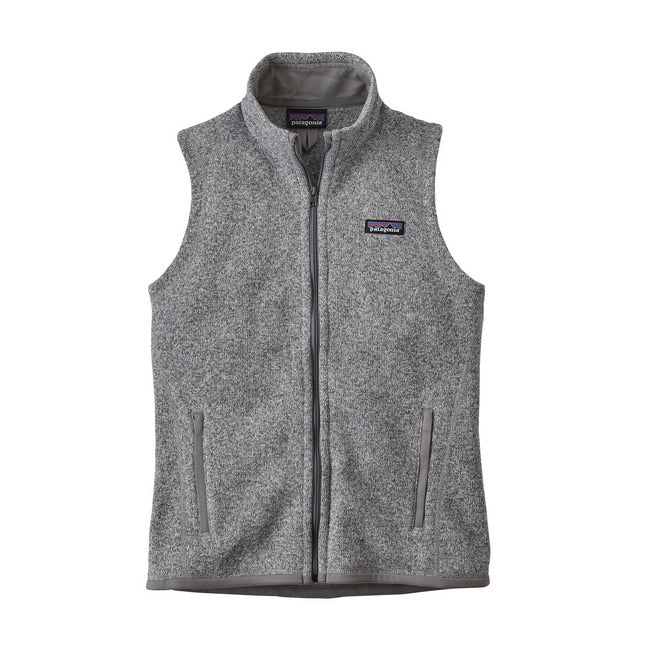 PATAGONIA BETTER SWEATER VEST DAME BIRCH WHITE
