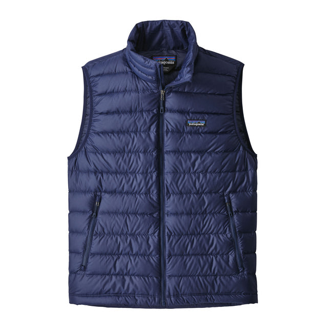 PATAGONIA DOWN SWEATER VEST HERRE CLASSIC NAVY