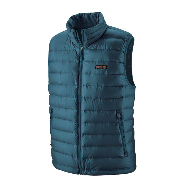 PATAGONIA DOWN SWEATER VEST HERRE CRATER BLUE