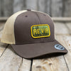 REVIR - TRUCKER CAP - BRUN